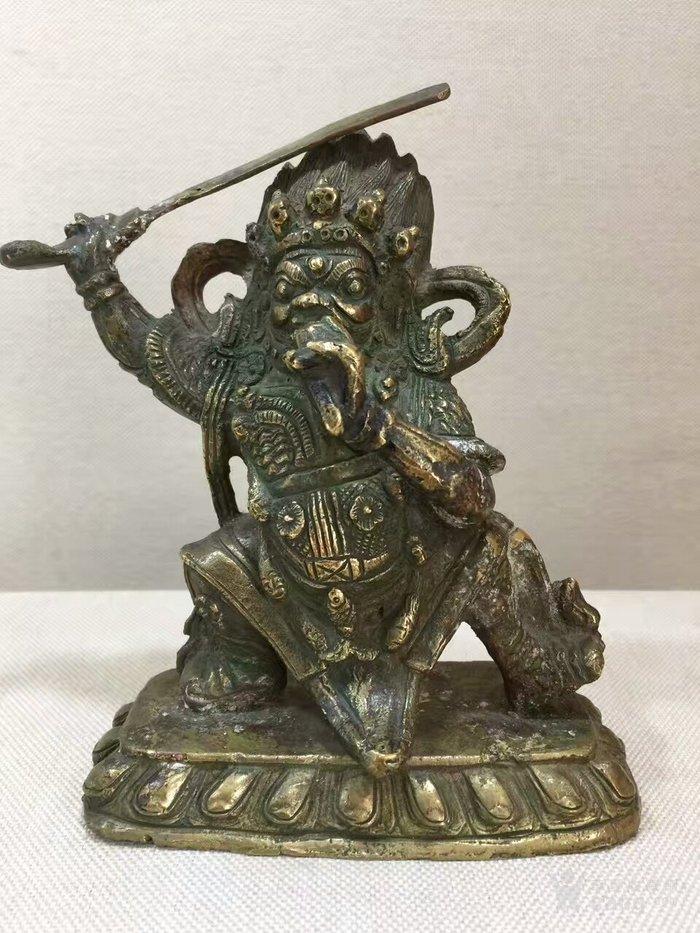 清代民国时期,蒙藏地区天神-图1
