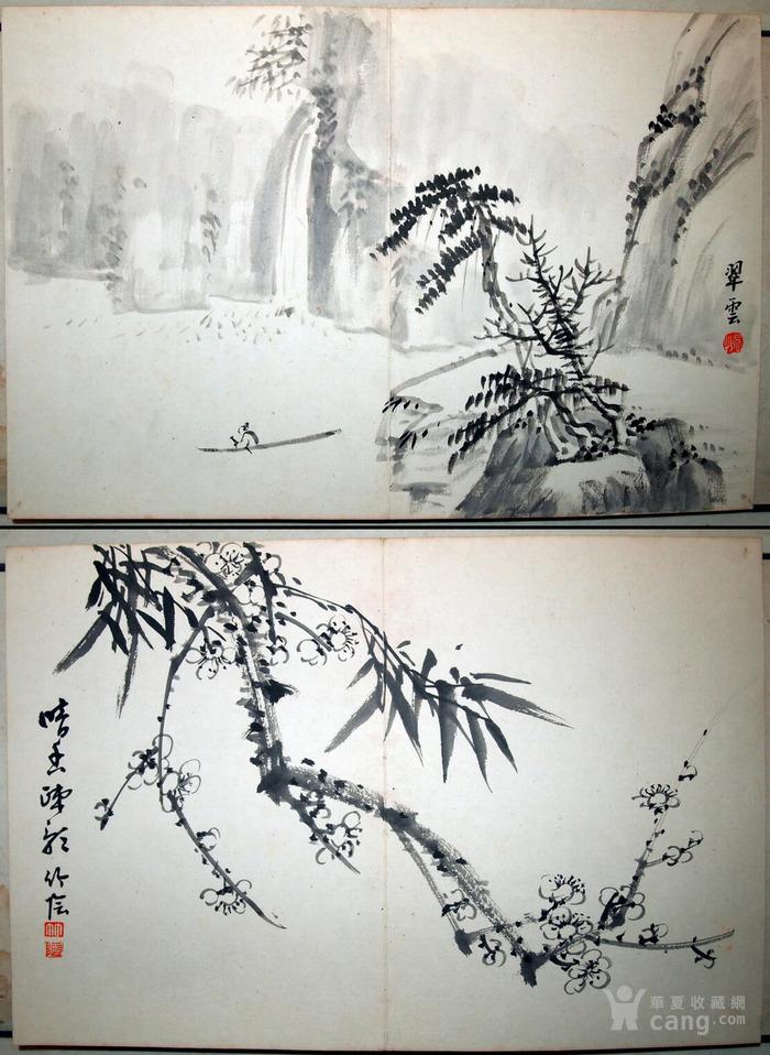"""近代--民国初年""""鸳鸯蝴蝶派""""重要人物-何海鸣等书画册图9"""