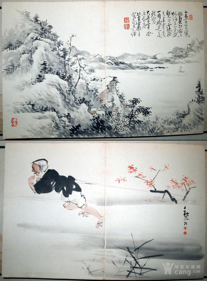 """近代--民国初年""""鸳鸯蝴蝶派""""重要人物-何海鸣等书画册图10"""