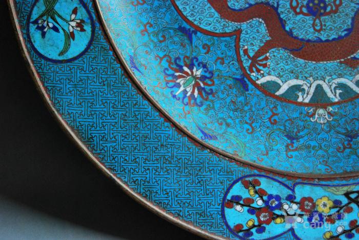 45厘米  景泰蓝大盘图6