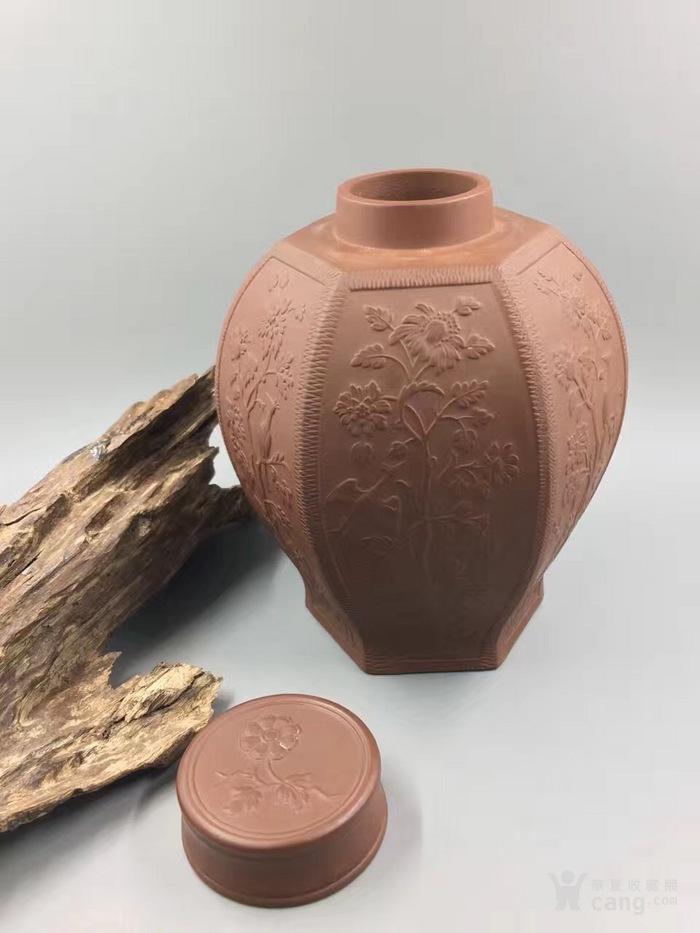 紫砂茶叶罐图1