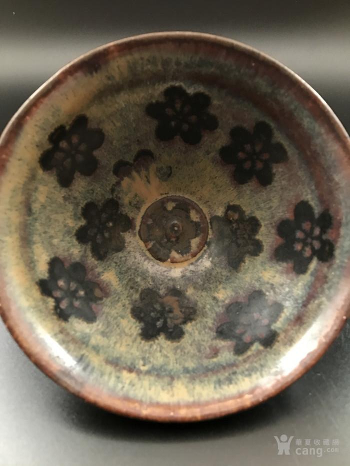 吉州窑梅花茶盏图2