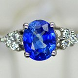 PT950铂金镶嵌高级斯里兰卡皇家蓝宝石戒指