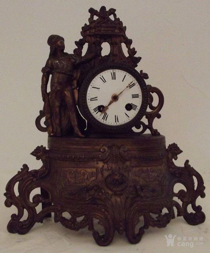 法国十九世纪晚期壁炉座钟图1