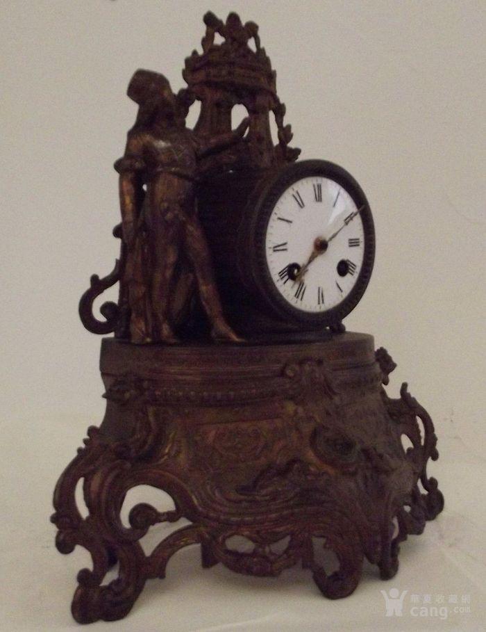 法国十九世纪晚期壁炉座钟图2