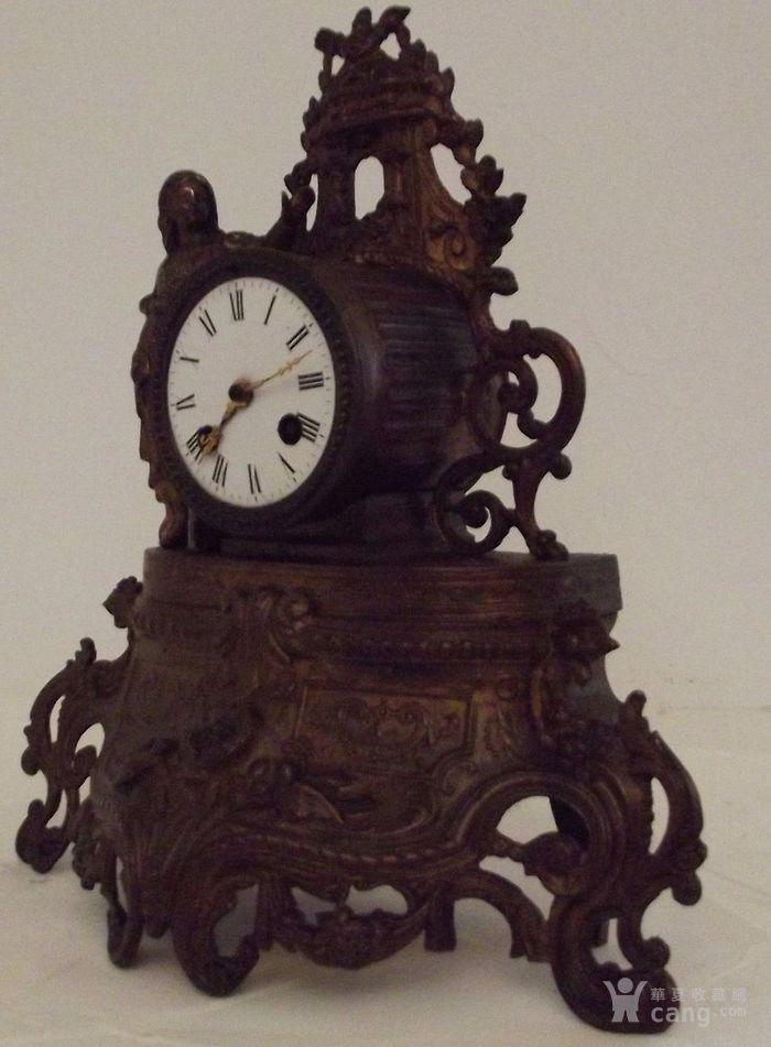 法国十九世纪晚期壁炉座钟图4