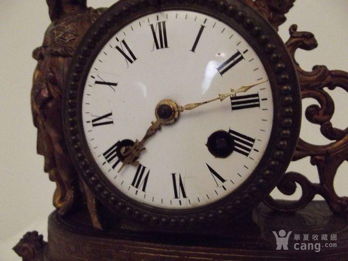 法国十九世纪晚期壁炉座钟图5