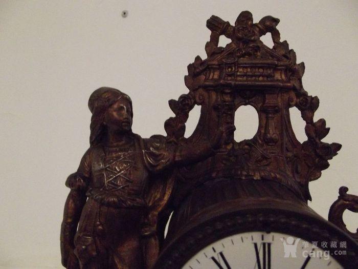法国十九世纪晚期壁炉座钟图6