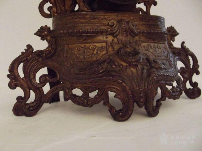 法国十九世纪晚期壁炉座钟图7