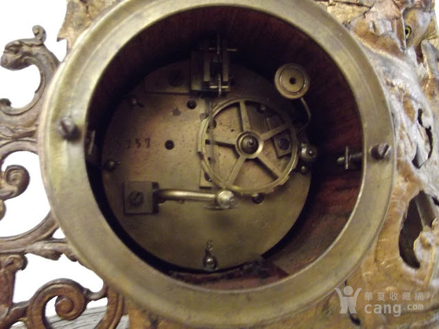 法国十九世纪晚期壁炉座钟图10