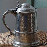 稀见英国古董锡制啤酒杯brisks百年品牌