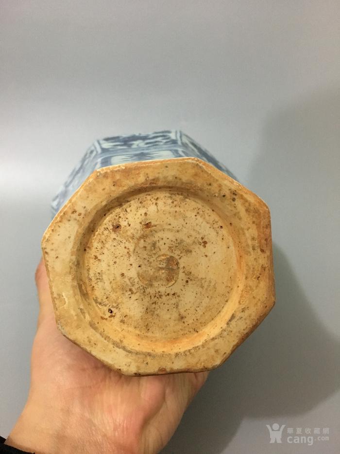 青花六棱瓶(永乐)图6