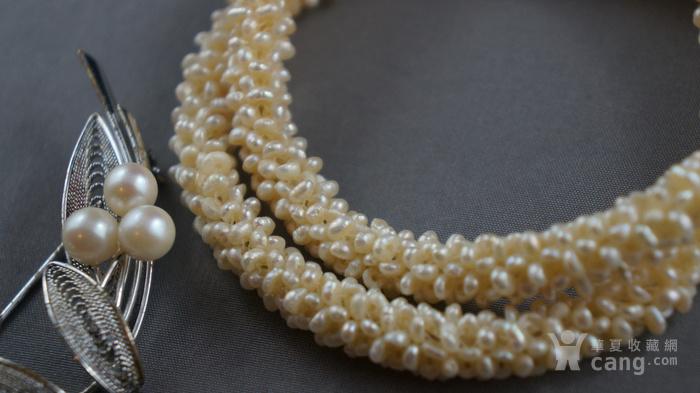 创汇期天然米粒珍珠项链图2