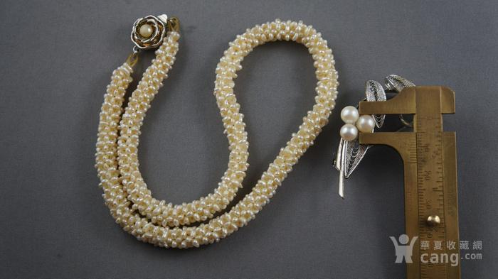 创汇期天然米粒珍珠项链图3