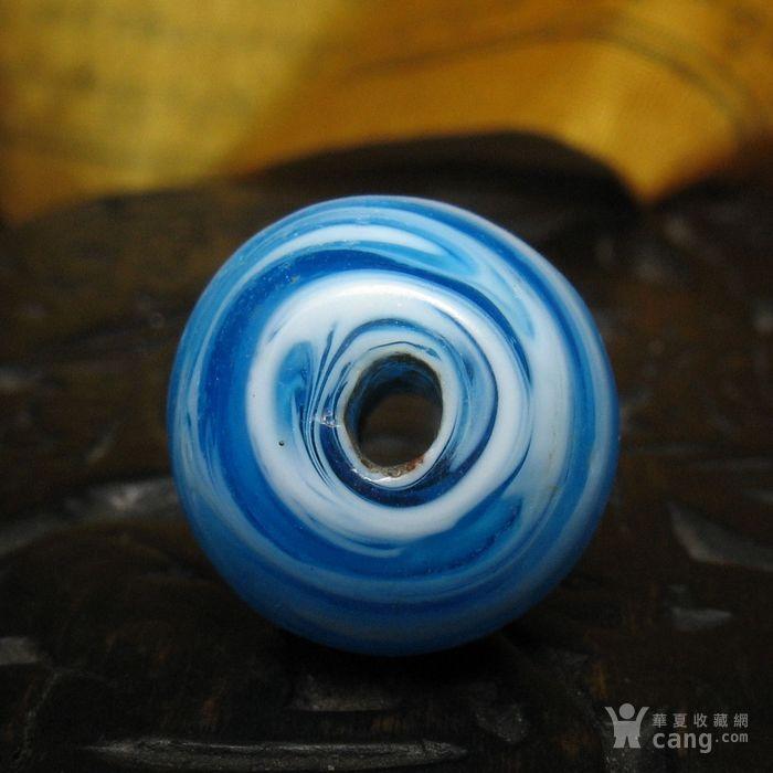 30091老搅胎缠丝琉璃桶珠14mm图4