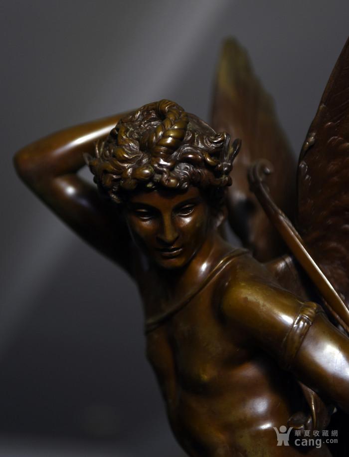 19世纪法国著名雕塑家儒勒.古丹艺术精品爱神丘比特图8