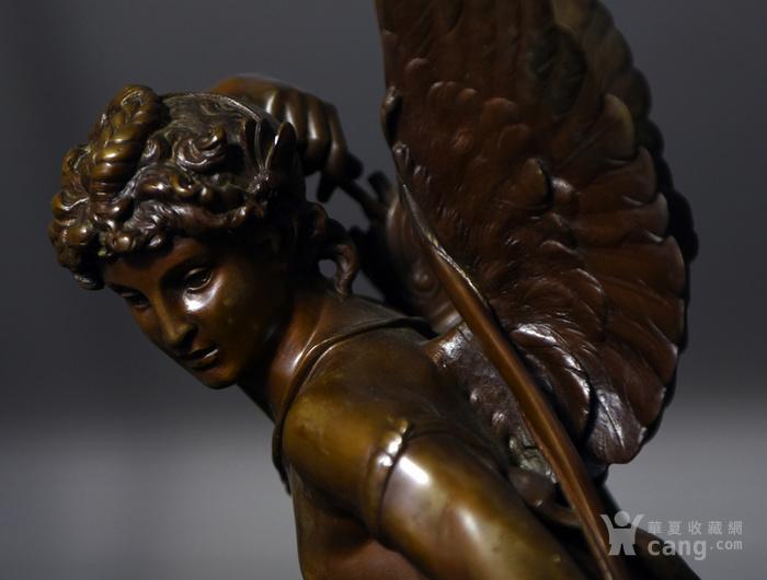 19世纪法国著名雕塑家儒勒.古丹艺术精品爱神丘比特图10