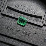 天然祖母绿裸石 0.6克拉  5*5.5mm