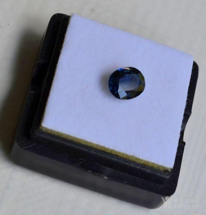 蓝宝石 斯里兰卡纯天然椭圆型1.20克拉蓝宝石图2