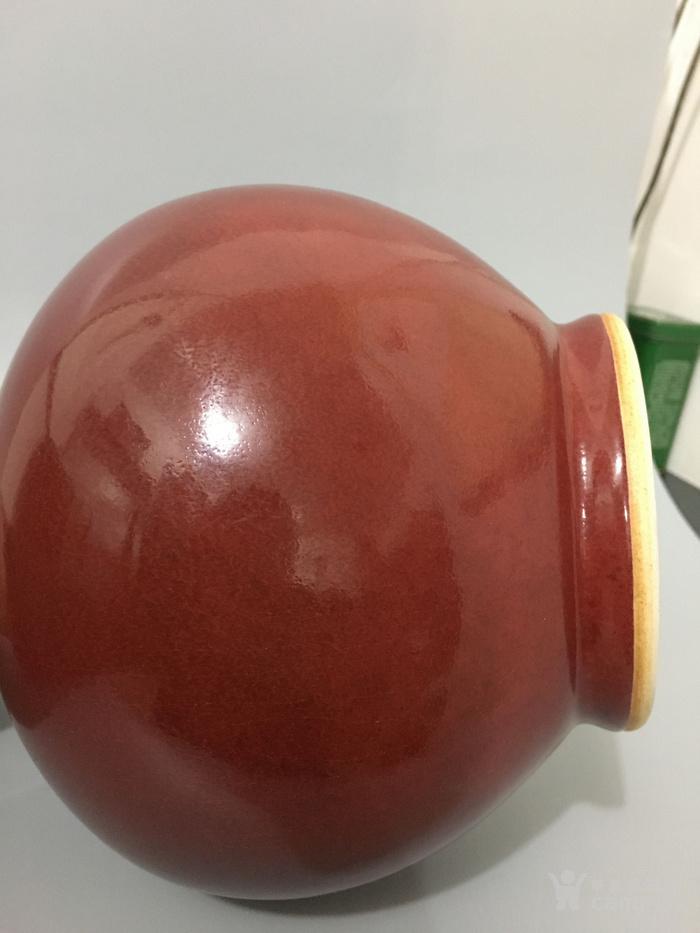 郎窑红赏瓶图7