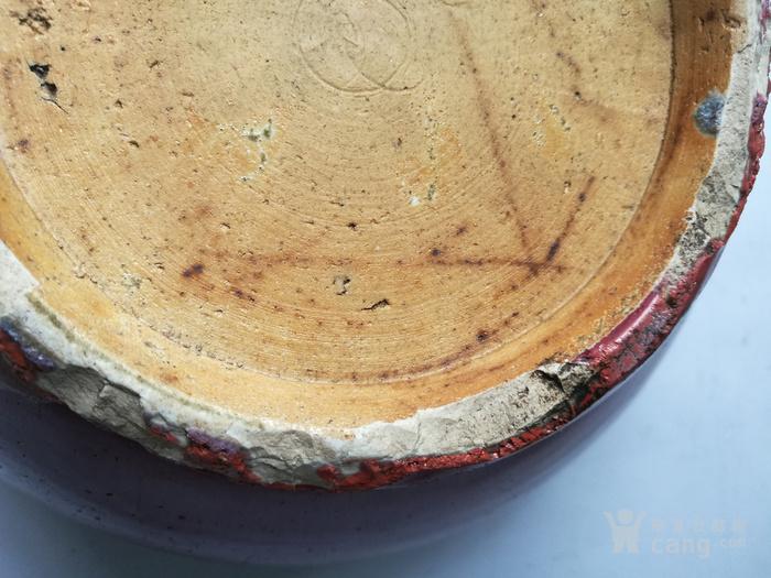 清中期 红釉双狮耳香炉图8