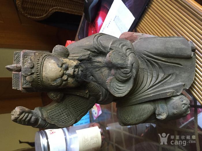 民国木雕财神像图1