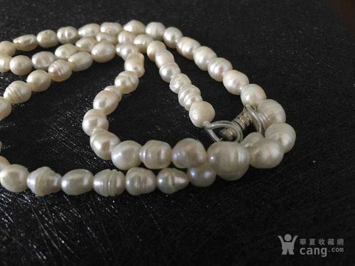 ***欧洲直邮***意大利珍贵老珍珠项链图2