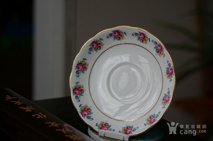 英国古董骨质瓷盘图4