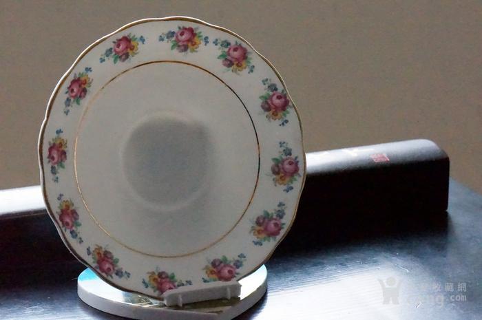 英国古董骨质瓷盘图1