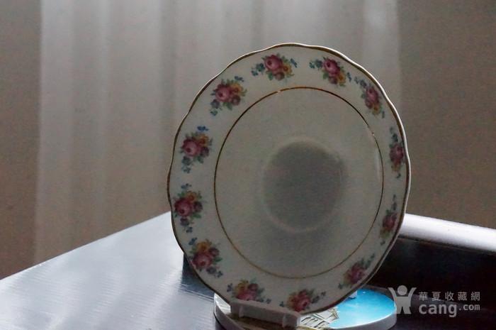 英国古董骨质瓷盘图5
