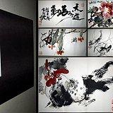 西安美院教授-刘保申-书画册