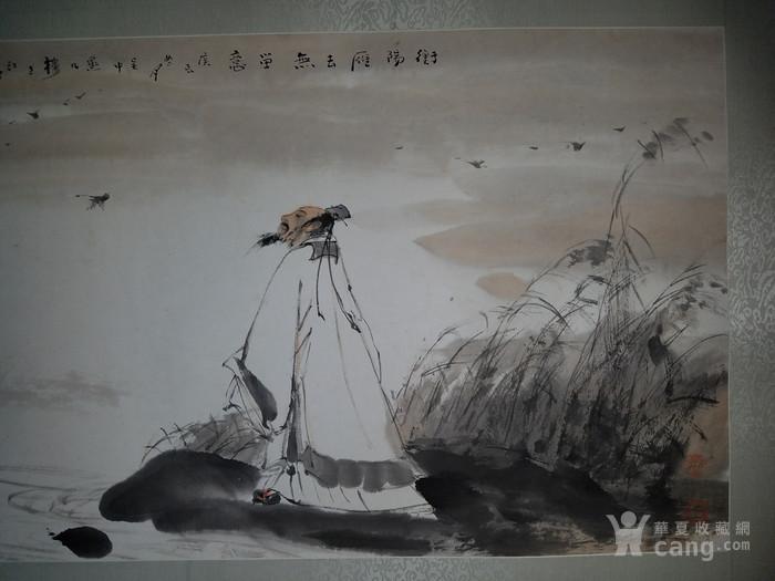 《已鉴定 》大放漏:江野精品人物故事图  衡阳雁去无留意图2