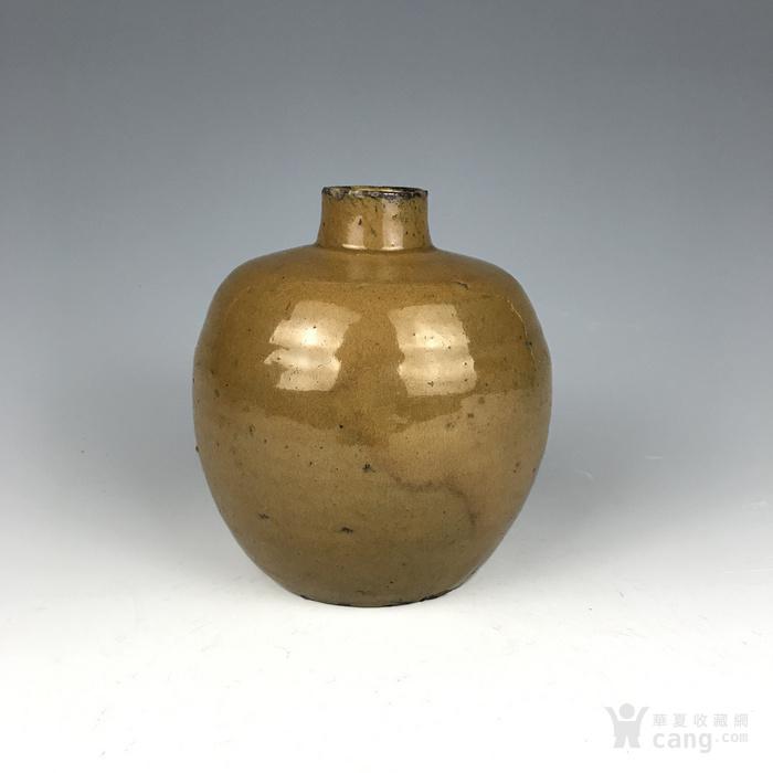 宋代 紫金釉酒瓶图2
