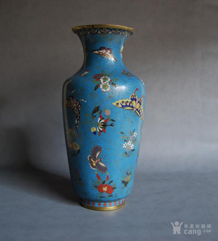 清 景泰蓝瓶 d148图1