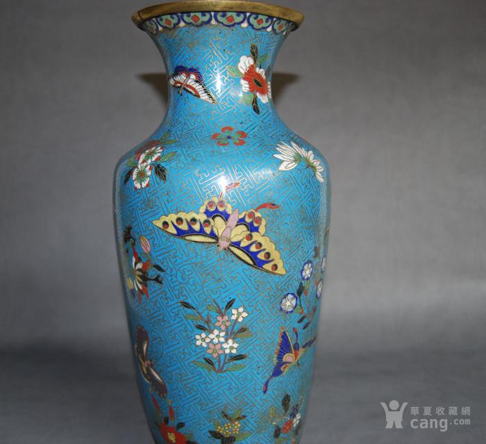 清 景泰蓝瓶 d148图3