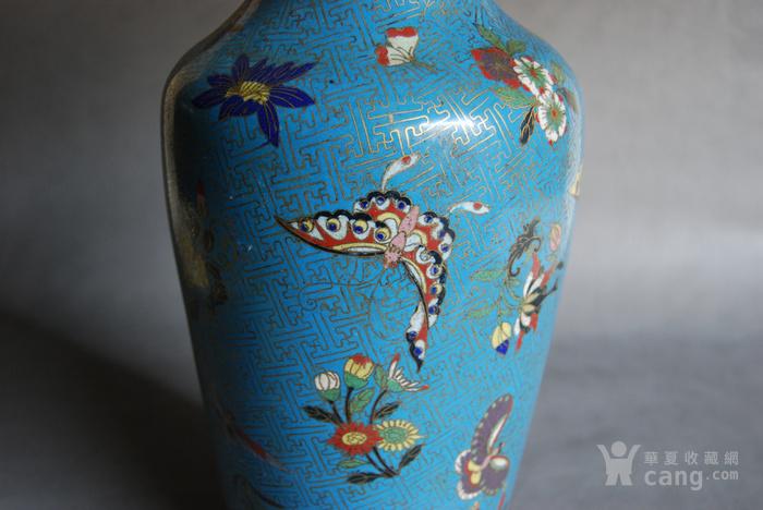 清 景泰蓝瓶 d148图6