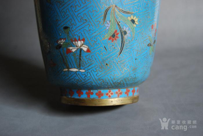 清 景泰蓝瓶 d148图9
