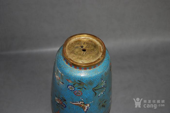 清 景泰蓝瓶 d148图12