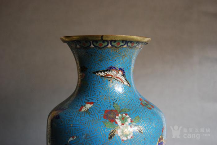 清 景泰蓝瓶 d148图4