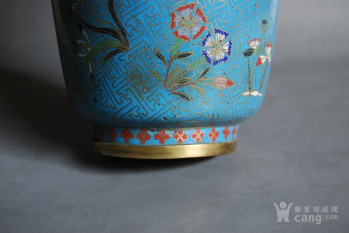 清 景泰蓝瓶 d148图10