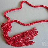 漂亮的珊瑚项链