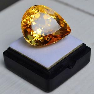 黄水晶 30.25克拉纯天然无加热巴西黄水晶 旺财石