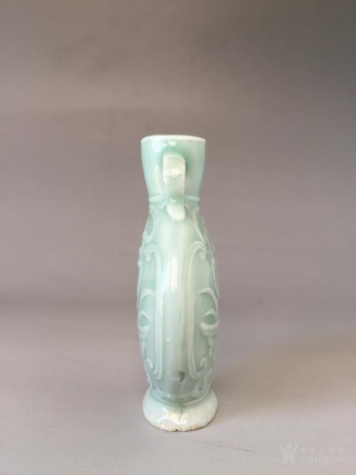 清光绪粉青釉鼻烟壶,高8.7cm,口径1.8cm图4