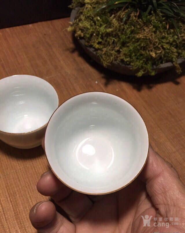 今日特价中的特价,五个福田窑釉的单杯18图7
