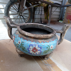 景泰蓝香炉