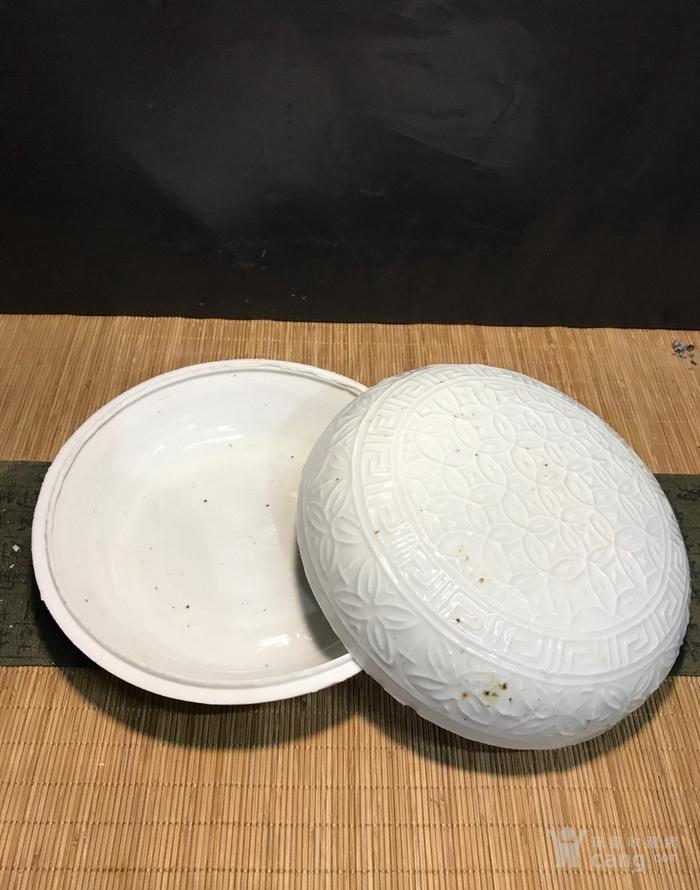 德化窑,宋元大粉盒图2