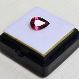 紫红色碧玺 尼日利亚纯天然紫红色碧玺1.23克拉