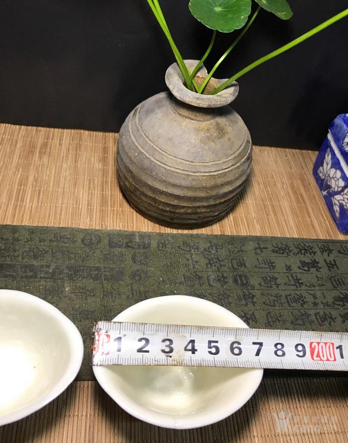 一对德化窑明代棱形兰花杯,口径7cm,高4.5cm,图7