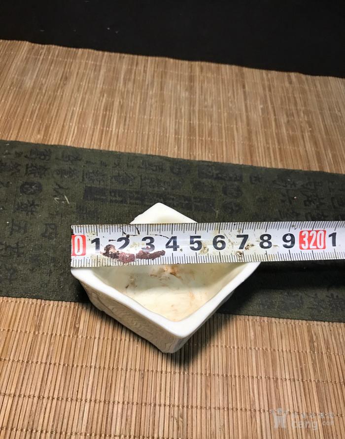 德化窑明代菱形小书琴炉图6