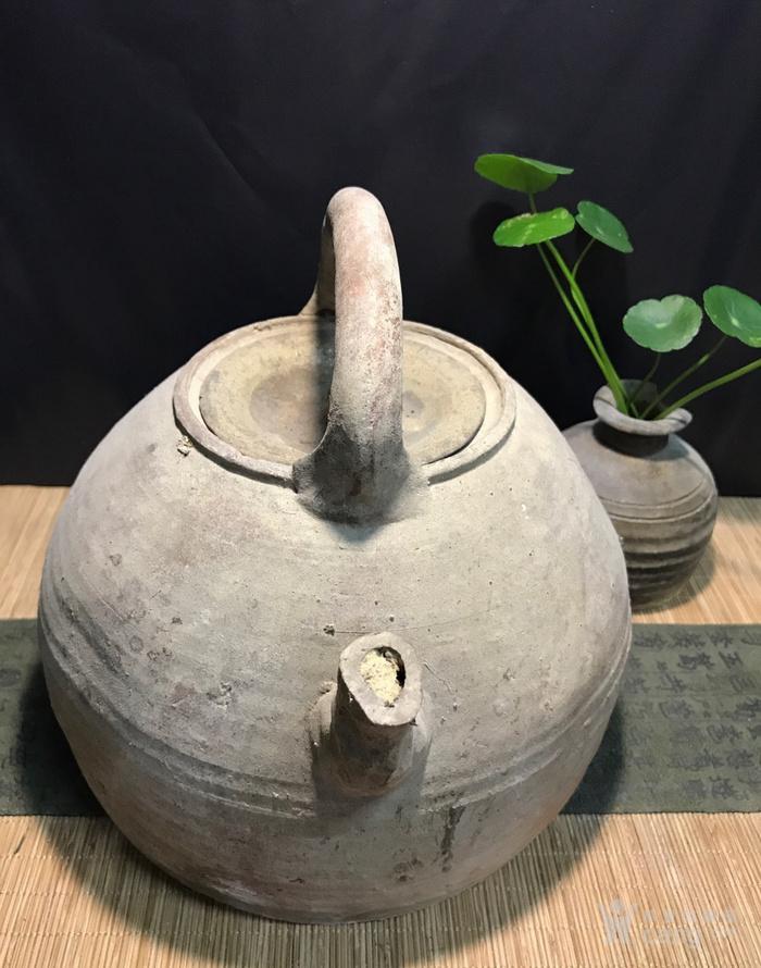 清代大茶壶,煮茶佳器,盖后配图2